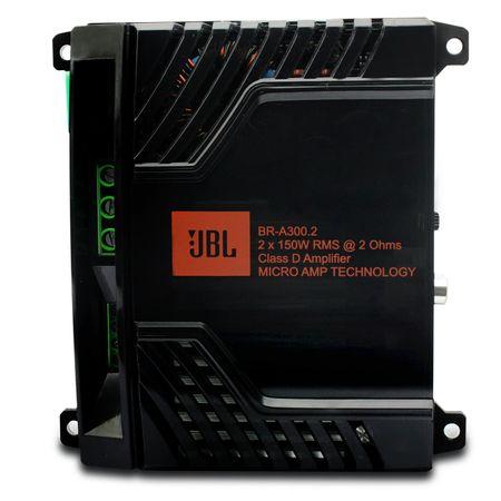 Modulo-Amplificador-JBL-Selenium-BR-A-300.2-300W-RMS-2-Canais-2-Ohms---Cabo-RCA-4mm-5-Metros-connect-parts--1-