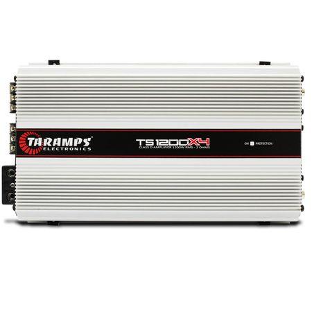 Modulo-Amplificador-Taramps-TS1200x4-1200W-RMS-2-Ohms-4-Canais---Cabo-RCA-4mm-5-Metros-connect-parts--1-