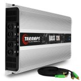Modulo-Amplificador-Taramps-Bass-12K-12000W-RMS-1-Ohm-1-Canal---Cabo-RCA-4mm-5-Metros-connect-parts--1-