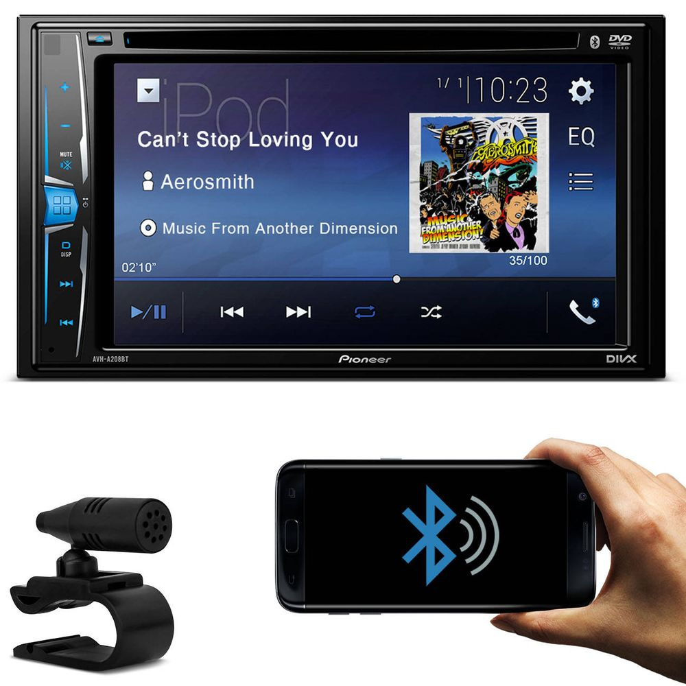 dvd pioneer bluetooth automotivo avh a208bt connect parts. Black Bedroom Furniture Sets. Home Design Ideas