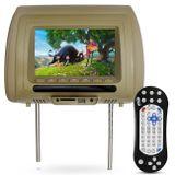 Tela-Encosto-de-Cabeca-7-Polegadas-Universal-Bege-Entradas-USB-SD-Fone-Ouvido-Controle-Remoto-Game-Connect-Parts--1-