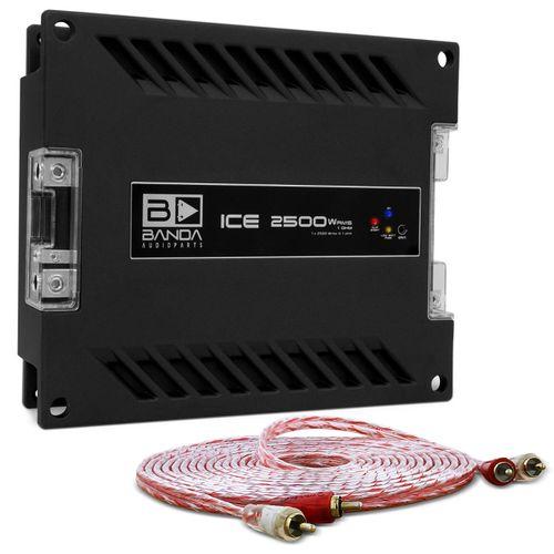 Modulo-Amplificador-Banda-Ice-2501-2500W-RMS-1-Canal-1-Ohm---Cabo-RCA-Stetsom-5m-connect-parts--1-