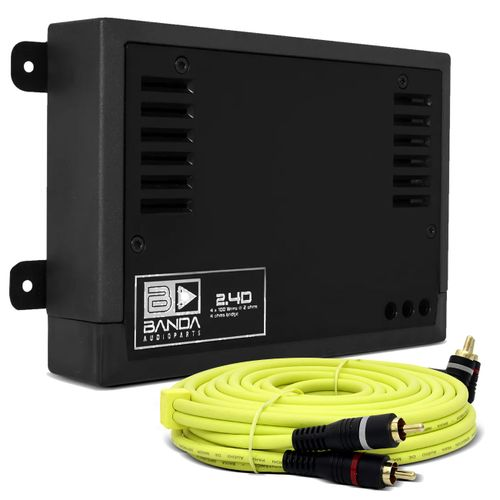 Modulo-Amplificador-Banda-400.4-400W-RMS-2-Ohms-4-Canais-Preto---Cabo-RCA-Audiophonic-5m-connect-parts--1-