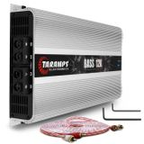 Modulo-Amplificador-Taramps-Bass-12K-12000W-RMS-1-Ohm-1-Canal---Cabo-RCA-Stetsom-5m-connect-parts--1-