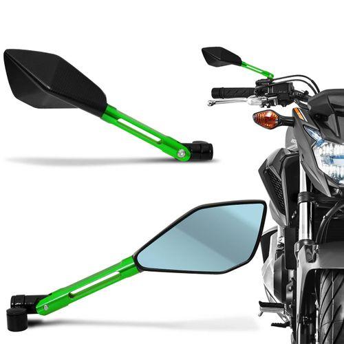 Retrovisor-09-Pentagonal-Espelho-azul-com-suporte-Verde-Aluminio-connectparts--1-