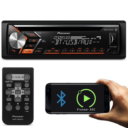 CD-Player-Automotivo-Pioneer-DEH-S4080BT-1-Din-Bluetooth-USB-AUX-RCA-FM-MP3-WMA-Smartphone-Mixtrax-connectparts--01-
