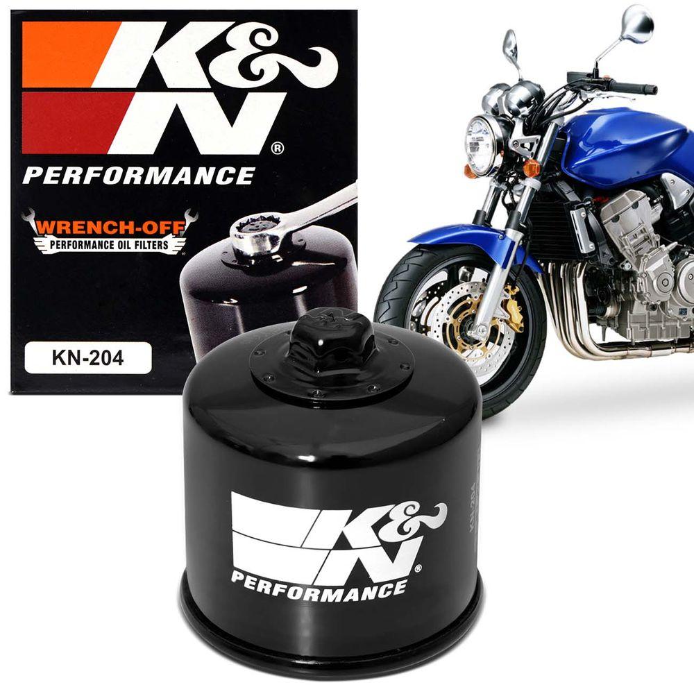 6c59bca92 Filtro de Oleo K&N CB1000R CB600f Hornet CB500F XJ6 MT09 MT07 MT03 FZ6 R3  R6 TIger 800 KN-204