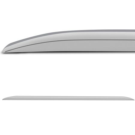 Longarina-Slim-De-Teto-Decorativa-Pu-Creta-Comprimento-160Cm-Prata-Aluminium-connectparts--2-
