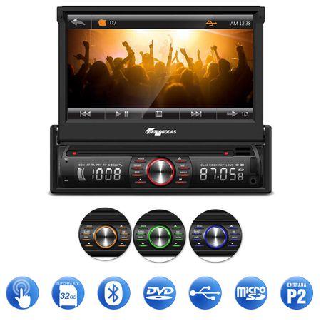 DVD-Player-Quatro-Rodas-MTC6617-7-Pol-Retratil-Bluetooth---Receptor-Antena-TV-Digital-2-Saidas-AV-connect-parts--1-