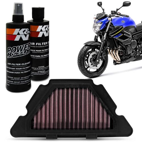 Filtro-de-Ar-Esportivo-KN-Yamaha-Xj6-2010-a-2018-YA-6009---Kit-de-Limpeza-do-Filtro-KN-99-5050-connect-parts--1-
