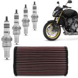 Filtro-de-Ar-Esportivo-KN-Honda-Hornet-CB600F-HA-5907---4-Velas-Iridium-NGK-Hornet-2008-a-2014-connect-parts--1-