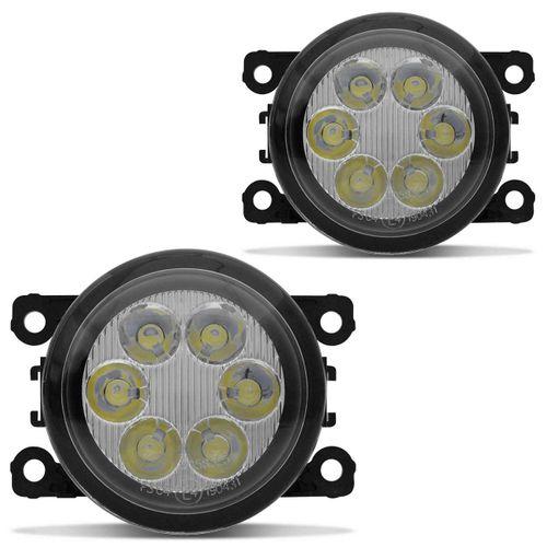 Par-Farol-de-Milha-6-LEDs-L200-Triton-2011-2012-2013-2014-2015-2016-2017-2018-Auxiliar-connectparts--2-