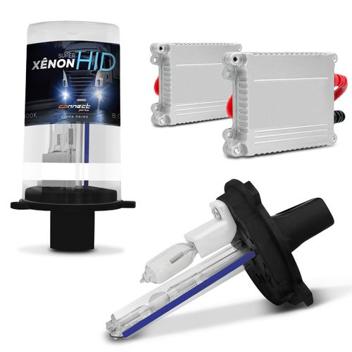 Kit-Xenon-Caminhao-Completo-H1-8000K-35W-24V-Lampada-com-Tonalidade-Azulada-e-Reatores-Slim-connectparts--1-