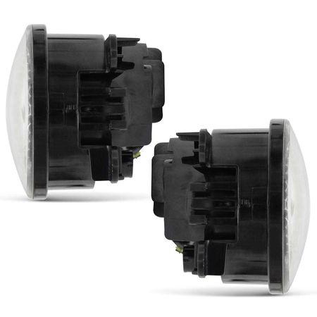 Par-Farol-de-Milha-3-LEDs-DRL-Anel-Peugeot-307-2006-2007-2008-2009-2010-Auxiliar-Neblina-connectparts--3-