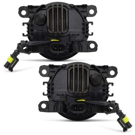 Par-Farol-de-Milha-3-LEDs-DRL-Anel-Peugeot-307-2006-2007-2008-2009-2010-Auxiliar-Neblina-connectparts--4-