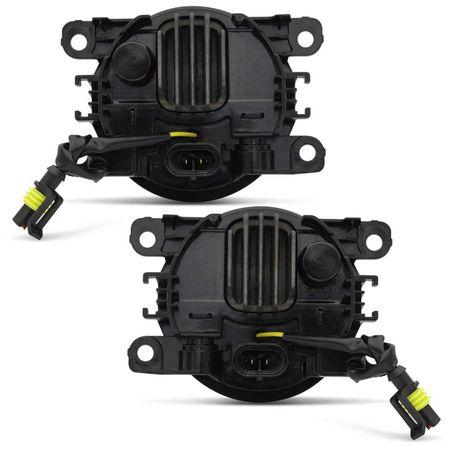 Par-Farol-de-Milha-3-LEDs-DRL-Anel-Citroen-C3-2009-a-2018-Auxiliar-Neblina-connectparts--4-