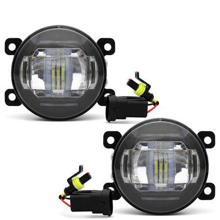 Par-Farol-de-Milha-3-LEDs-DRL-Peugeot-307-2006-2007-2008-2009-2010-Auxiliar-Neblina-connectparts--2-