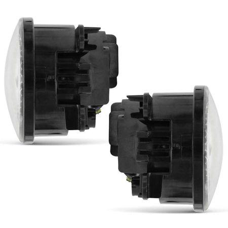 Par-Farol-de-Milha-3-LEDs-DRL-Anel-Citroen-C5-2005-2006-2007-Auxiliar-Neblina-connectparts--3-