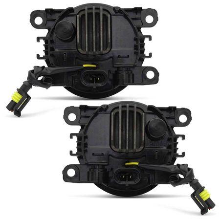 Par-Farol-de-Milha-3-LEDs-DRL-Anel-Citroen-C5-2005-2006-2007-Auxiliar-Neblina-connectparts--4-
