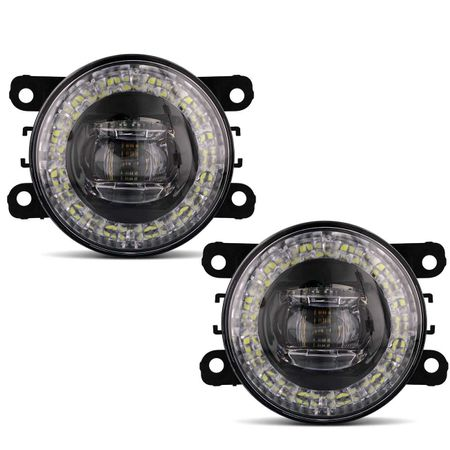 Par-Farol-de-Milha-3-LEDs-DRL-Anel-L200-Triton-2011-2012-2013-2014-2015-2016-2017-2018-Auxiliar-connectparts--2-