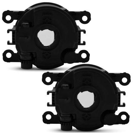 Kit-Farol-Milha-Ka-15-a-17-Aro-Preto-Auxiliar---Par-Lampada-Super-Brancas-H11-8500K-Efeito-Xenon-connect-parts--1-