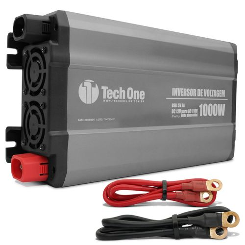 Inversor-de-Voltagem-Tech-One-1000W-12V-para-110V-com-USB-Transformador-Conversor-de-Potencia-connect-parts--1-