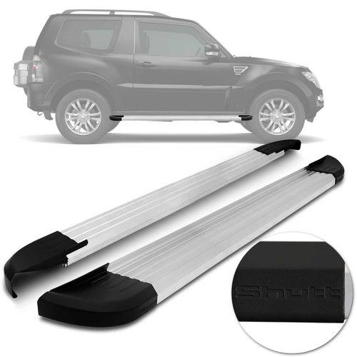 Par-Estribos-Laterais-Shutt-Pajero-Full-3-Portas-08-a-18-Aluminio-Anodizado-Preto-Modelo-Original-connectparts--1-