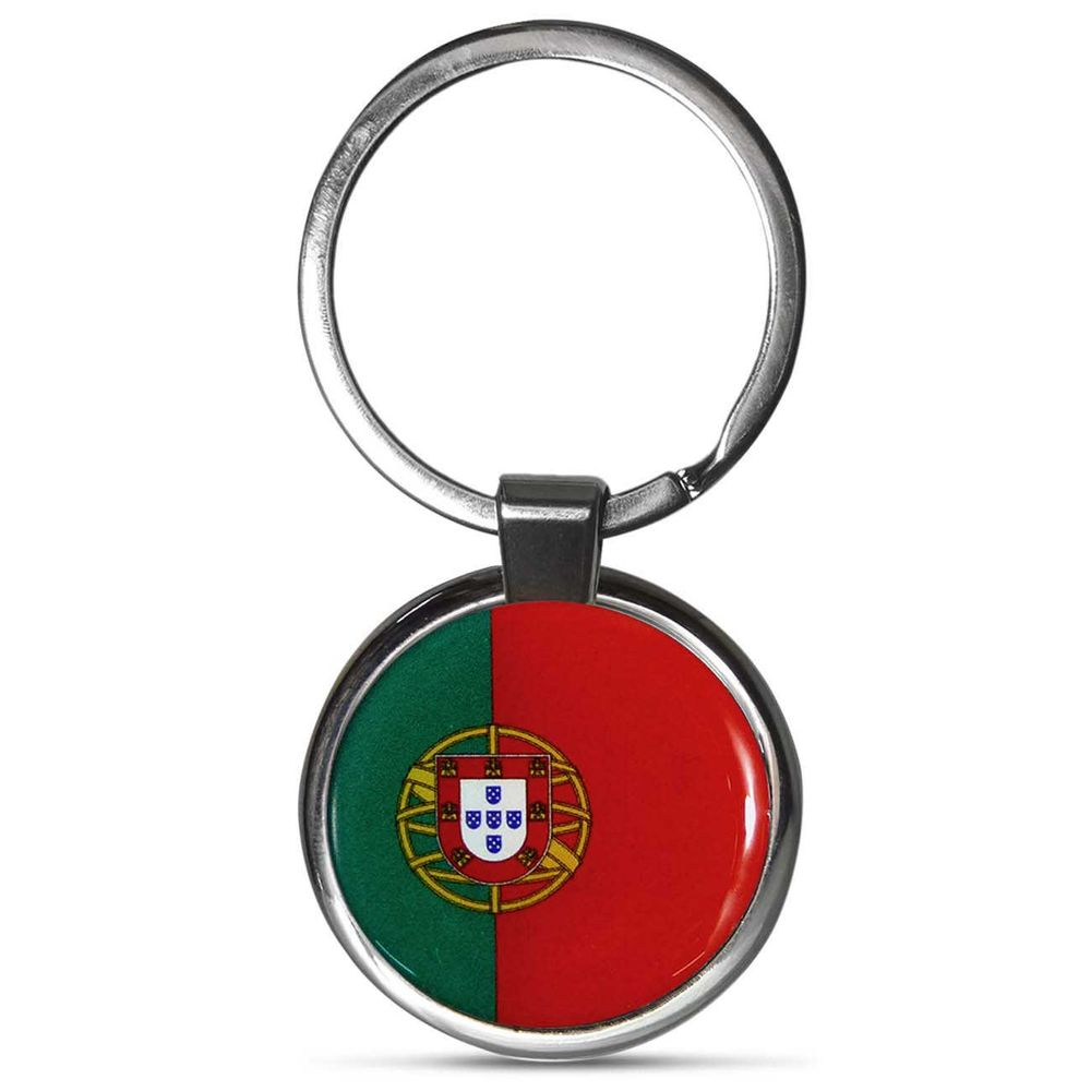 Chaveiro Premium Aço Bandeira de Portugal - Connect Parts e51fa0682bc6f
