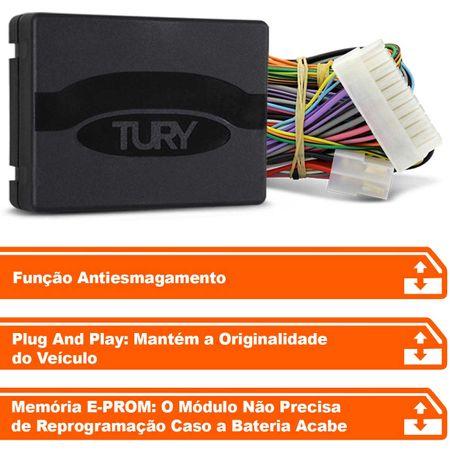 Modulo-de-Vidro-Eletrico-Tury-PRO-4-34-F-Plug-Play-Santa-Fe-2011-a-2013-4-Portas-Antiesmagamento-connectparts--2-