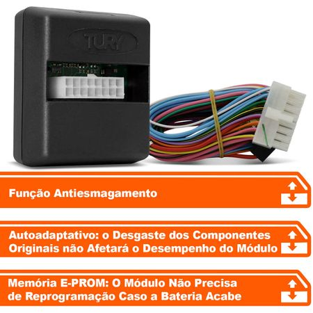 Modulo-de-Vidro-Eletrico-Tury-Universal-2-Portas-para-botoes-resistivos-Ver-Aplicacao-PRO-2K-connectparts--1-