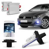 Kit-Lampada-Xenon-para-Farol-de-milha-Volkswagen-Golf-VII---TSi-2013-a-2014-H11-8000k-12v-35W-connect-parts--1-