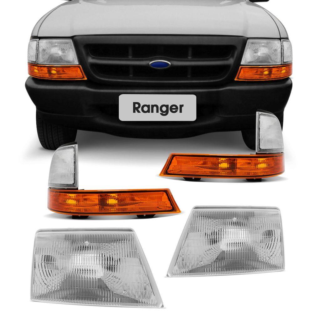 bad8c80d84f34 Kit Farol Ranger Foco Simples + Lanternas - Connect Parts
