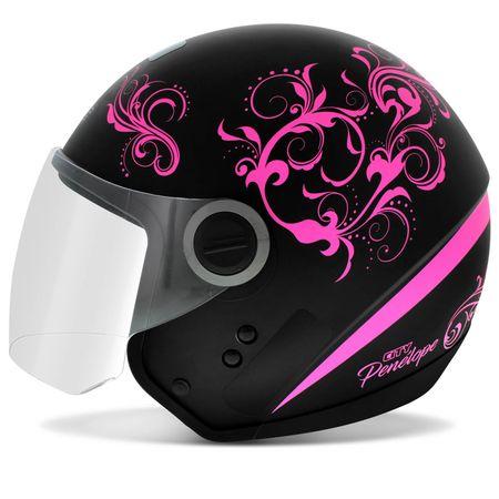 Capacete-Feminino-City-Penelope-Preto-Fosco-e-Rosa-connectparts--1-