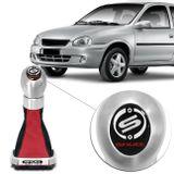 Kit-Coifa-Cambio-Shutt-Corsa-Classic-Hatch-95-a-10-Preta-e-Vermelha---Manopla-Orbitt-G1-Escovado-Connect-Parts--1-