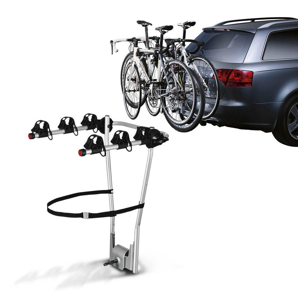 67d618963 Suporte Transbike 3 Bicicletas Engate Thule HangOn 974 Universal Prata  Suporta 45KG