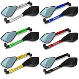 Retrovisor-Esportivo-Similar-Rizoma-Tomok-Pentagonal-100--Aluminio-Espelho-Azul-Universal-connectparts--1-