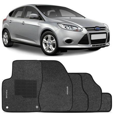 Jogo-Tapetes-Carpete-Ford-Focus-13-a-18-Grafite-Bordado-5-Pecas-connectparts--1-
