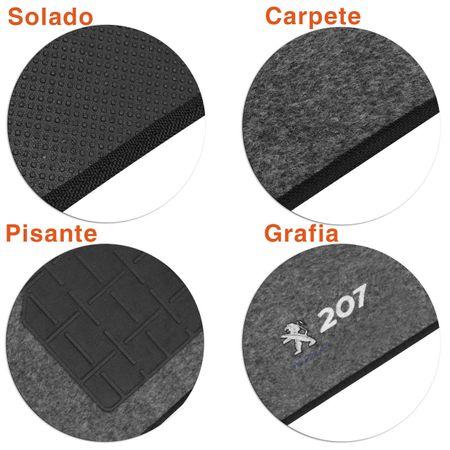 Jogo-Tapetes-Carpete-Peugeot-207-07-a-13-Grafite-Bordado-5-Pecas-connectparts--1-