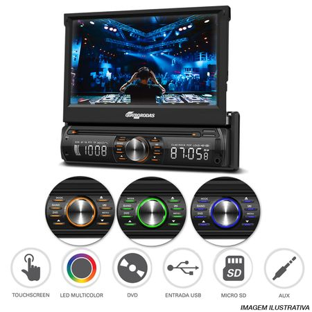 DVD-Player-Quatro-Rodas-Retratil-7-Pol-Touch-USB-SD-AUX-Bluetooth---Sensor-Branco-connect-parts--1-