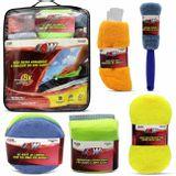 Kit-Limpeza-Pano-Microfibra-Luva-Esponja-2-Em-1-Polimento-Escova-Aro-9-Itens-connectparts--1-