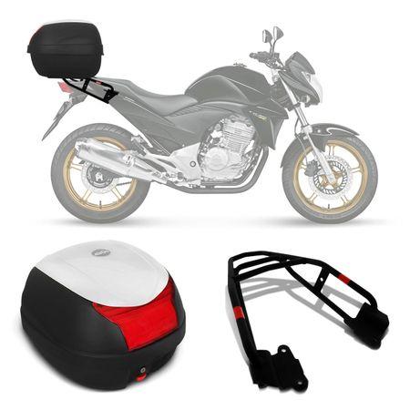 Bau-Bauleto-Moto-Honda-CB-300-09-a-15-Givi-Monolock-29-Litros-Preta-Branca---Bagageiro-Connect-Parts--1-