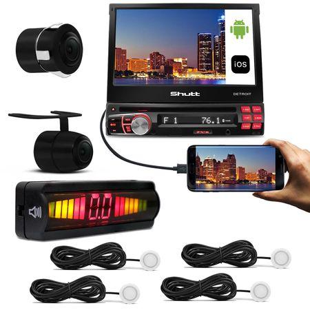 DVD-Player-Shutt-Detroit-7-Pol---Sensor-Estacionamento-Re-4-Sensores-Branco---Camera-de-Re-Connect-Parts--1-