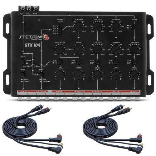 Crossover-STX-104-5-Vias---2-Cabos-RCA-4mm-Connect-Parts--1-