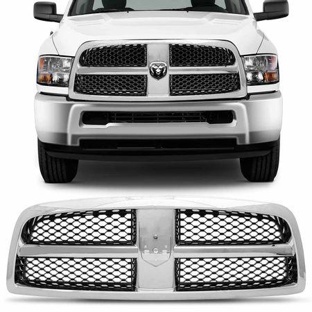 Grade-Dianteira-Dodge-Ram-2500-Cromada-2011-2012-2013-2014-connectparts--1-