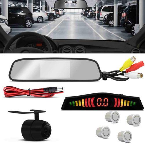 Kit-Retrovisor-LCD-com-Camera-de-Re-Colorida-2-em-1-e-Sensor-de-Estacionamento-4-Pontos-Prata-connectparts--1-