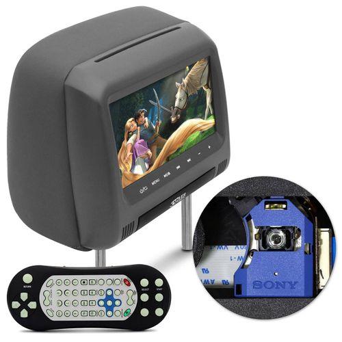 Tela-de-Encosto-DVD-Grafite-7-Polegadas-Over-Vision-KV-788D-2-GF-Funcao-AVDVD-Haste-Regulavel-connectparts--1-