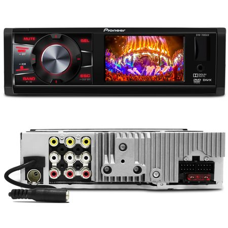 DVD-Pioneer-Mp3-DVH7880AV-LCD-3-Pol-USB---Tela-Encosto-LCD-7-Polegadas-Grafite-connect-parts--1-