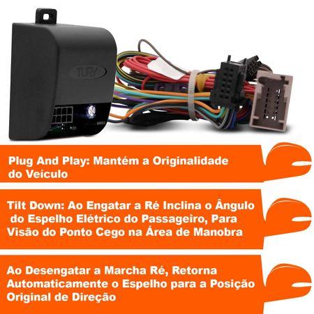 Modulo-assistente-manobra-para-abaixar-retrovisores-p-p-Fiat-Bravo-PARK-1.2--2-