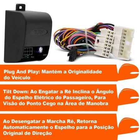 Modulo-assistente-manobra-para-abaixar-retrovisor-p-p-Hyundai-Vera-Cruz-PARK-1.2--2-