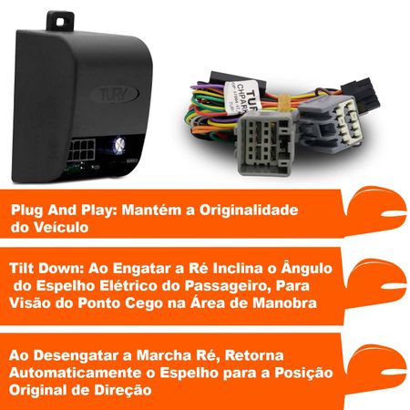 Modulo-assistente-manobra-para-abaixar-retrovisores-p-p-Jeep-Compass-PARK-1.3--2-